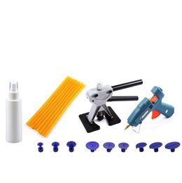 Wholesale Pdr Glue Puller Kit - Paintless Dent Repair Tools Set PDR Tools Kit glue gun puller 29 pcs hand Tools