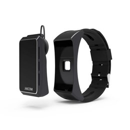 Wholesale Watch Earphone - Brand new Jakcom B3 Sports Smart bracelet Smart Watch with bluetooth earphone function Sleeping heart rate monitor bracelet