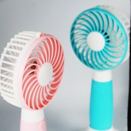 Wholesale 15cm Cooling Fan - 2017 Mini Electronic Fan Flexible Small-scale Portable Super Mute Cooler Cooling Windmill Hello Kitty Cute