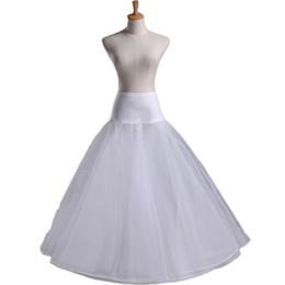 Wholesale Tulle Crinoline Skirt - 2017 Crinoline Enaguas Jupon Cerceau Mariage Petticoats For Wedding Dress Hoop Skirt Sottogonna Sposa Tulle Petticoats