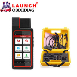 Wholesale Diagun Tools - Launch X431 Diagun IV with yellow case full set cables adaptors Diagnotist Tool Free Update Online X-431 Diagun IV diagnostic system