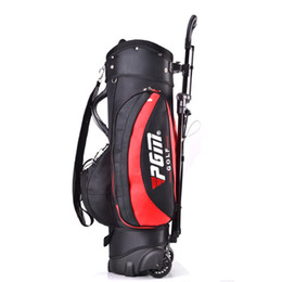Wholesale Nylon Rollers - Wholesale- Golf Rollers Bag with Trolley Golf Rack Bag 7 Access Golf Trolley Bag
