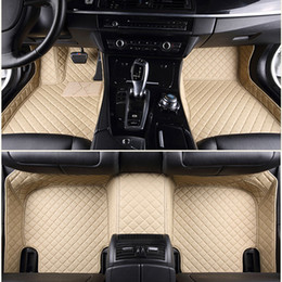 Wholesale Honda Fit Custom - SUV MPV Seven Seats Custom fit car floor mats dust-proof Mat Anti Slip Mat Carpet Feet Pad For Honda Odyssey Alpha highlander Q7