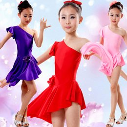 Wholesale Dresses Party Shopping Free - New HOT Children's Dress   Latin dance costumes Clothing Children's Party Dress Children's Dance Clothing free shopping