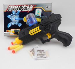 Wholesale Shot Gun Bullets - Soft Water Bullet Toy Gun Pistol Gift Kids Crystal Bullets 2 in 1 CS Shooting Game Set