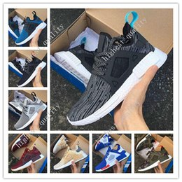 Wholesale Flat Netting - 2017 New Arrival NMD XR1 Boost Duck Camo Navy White Army Green for Top quality MND III Net Surface Running Shoes Eur 36-45 Free Shipping