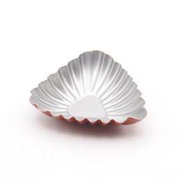 Wholesale Mini Pan Set - Wholesale- Non-Stick Carbon Steel Mini Egg Tart Mold Shell Shaped Pie Pans