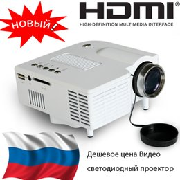 Wholesale Projector Specials - Wholesale-Special Russian Sale Projector LED Mini Portable Proyector Digital Beamer HDMI USB SD Game Videoprojecteur Home Kids Projektor
