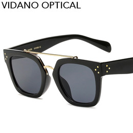 Wholesale Vintage Eyeglass Frames For Women - Vidano Optical Latest Classic High Quality Women Sunglasses Hot Party Designer Sun Glasses For Men Eyewear Vintage Fashion Eyeglasses UV400