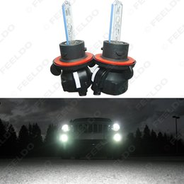 Wholesale Car Ac Kit - FEELDO 2x 35w Car Xenon Headlight Lamp H13 9008 Hi Lo Bi-Xenon Replacement AC HID Bulbs SKU:#2118