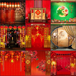 Wholesale Weave Spray - Vinyl Prop Backdrops Holiday Firework Lantern Photos Scenic Camera Backdrops Portrait Spray Backgrounds Computer Printed Photography F118