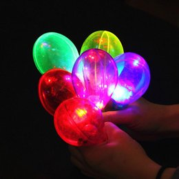 Wholesale Concert Supplies - Fashion LED Flashing Glowing Maracas Kids Light-Up Toys Bar Concert KTV Cheer Props Glow Party Supplies Wedding Favors