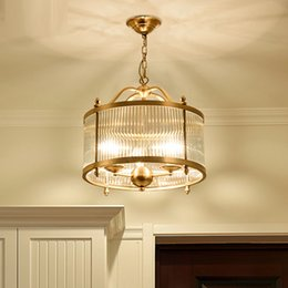 Vintage Cam Gölge Bakır lamba Sarkıt Dekorasyon Ev Aydınlatma Armatürü Retro Endüstriyel Kolye Işıkları 110 v 220 E14 Ampul nereden