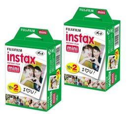 Wholesale Instax Mini Instant Film - High quality Instax White Film Intax For Mini 90 8 25 7S 50s Polaroid Instant Camera Photo Films in stock