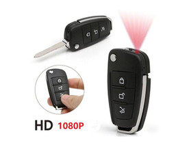 Wholesale Key Chain Cams - Mini Car Key Chain Hidden Spy Camera DV Motion Detection Security DVR Video Recorder Cam Camcorder IR Night Vision S820