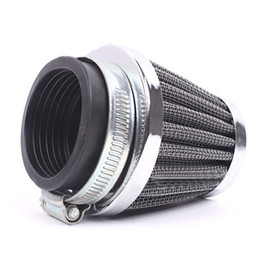 Wholesale pit scooter - 35mm Scooter Motorcycle ATV Quad Dirt Pit Air Filter Cleaner Tube Gauze M00036