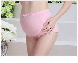 Wholesale Pregnant Comfortable - pregnant women briefs pants underwear cotton breathable comfortable 2017 Europe and America