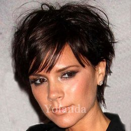 Wholesale Short Real Hair Wigs Women - New Arrival short real hair wig malaysian lace wigs cheap fast shipping wigs Glueless lace front human hair wigs for black women