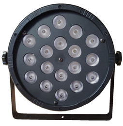 Wholesale Disco Lights Power Led - Newest 18pcs*10W RGBW 4in1 high power led par light with DMX512 controll for KTV DISCO CLUB STAGE LIGHTIN PARTY