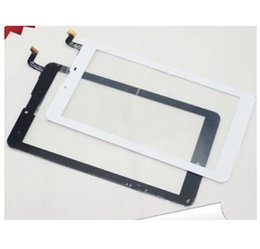 "lte tablets Coupons - Wholesale- New Touch Screen 7"" Irbis TZ70 LTE Tablet Version 2 Touch Panel digitizer Glass Sensor Replacement Free Shipping"