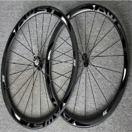 Wholesale Road Chinese - WAST black 38mm full carbon road bike wheels set clincher 700C chinese road carbon wheels 38mm width basalt surface wheels powerway hubs