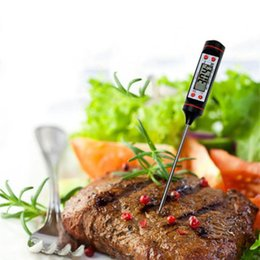Wholesale Thermometer Kitchen Meat - Digital Cooking Food Probe Meat Household Thermometer Gauge Kitchen BBQ 4 Buttons Food Cooking BBQ Meat Steak Probe Wholesale 3002024
