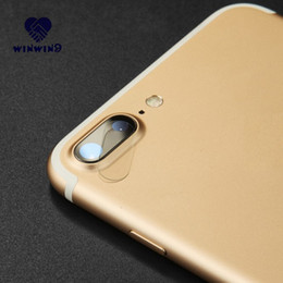 Wholesale Sticker Mirror For Phone - Camera Lens Tempered Glass Film For iPhone 7 6 6S Plus Back Film Rear Protective Glass Camera Sticker Phone Cover