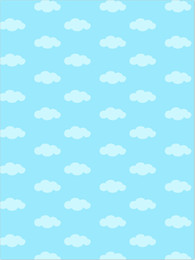 Wholesale Cartoon Backdrops - Blue Sky White Clouds Pattern Photography Backdrops Baby Newborn Photo Props Kids Children Cartoon Photographic Backgrounds for Studio