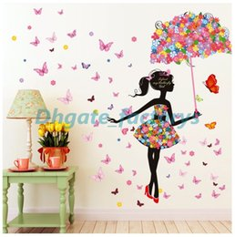 Wholesale Paper Wall Growth Chart - Removable Waterproof Wall Stickers Cartoon Bedroom Living Room Toilet Office Girl Series Stickers Home Decor