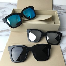 korea sunglasses Promo Codes - Korea Bigbang Square frame GM Dreamer glasses Outdoor polarized glasses, retro sunglasses, men and women Ladies and gentlemen luxury brands
