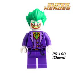 Wholesale Poison Ivy - Building Blocks Joker Poison Ivy Batman Robin Calendar of people Harley Quinn Catwoman diy figures Kids DIY Educational Toys