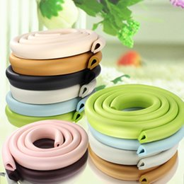 Wholesale Table Corner Bumpers - 2M Children Protection Table Guard Strip Baby Safety Products Furniture Crash Bar Corner Foam Bumper Collision