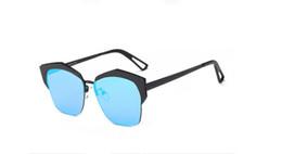 Wholesale Golden Burst - 2017 new brand fashion sunglasses retro fashioncolorful sunglasses trend blonde bursts 9636 men and women sunglasses free shipping