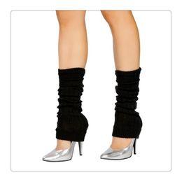 2019 neon costumi all'ingrosso Scaldini del piedino del costume di ballo del neon lavorati a maglia scaldini del piedino del partito delle nuove donne calde calde del piedino del commercio all'ingrosso 2017 Nuovo DHL libero