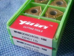 Wholesale Carbide Wholesale - free ship coated Carbide Inserts WNMG080408 Turning Insert For Special hard material