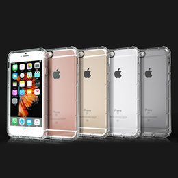 Apple i6 cubierta de metal online-Para iphone 7 7 plus 6 s 5 5 s plus cubierta de la caja delgada de TPU suave transparente claro accesorios a prueba de golpes de silicona para i6 4.7 pulgadas 5.5 pulgadas de DHL libre