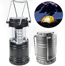 éclairage d'urgence vintage Promotion Lanterne de camping portable à LED LED 30 LED Lanterne de camping Lanterne de camping d'urgence pour les urgences de randonnée
