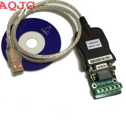 Wholesale Rs 485 Cables - Wholesale- USB 2.0 USB 2.0 to RS485 RS-485 RS422 RS-422 DB9 COM Serial Port Device Converter Adapter Cable, Prolific PL2303 AQJG