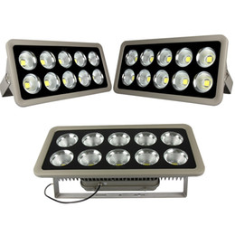 Wholesale Led Light Flood - Super Bright 100W 200W 300W 400W 500W Led Floodlights Waterproof Outdoor Led Flood Lights Wall Pack Lamp AC 85-265V + Warranty 3 Years