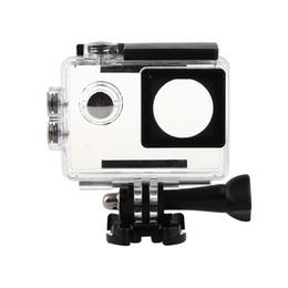 Vente en gros- Caméra d'action Boîtier étanche Boîtier de plongée Boîtier Étui de protection pour caméras de sport SJ4000 / SJ7000 / SJ9000 / W8 + 4k H9 Caméscope ? partir de fabricateur