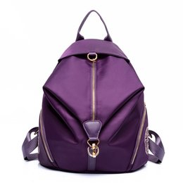 Wholesale Jelly Bags Trend - New handbag classic all-match fashion trend waterproof nylon backpack backpack Ms.
