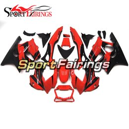 Wholesale 1998 F3 Fairings - Motorcycle Injection Fairings For Honda CBR600 F3 97 98 1997 1998 ABS Plastic Fairing Kit Bodywork Fitting Black Red New Cowling