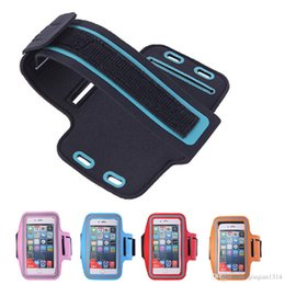 Wholesale Fitness Armbands - For iPhone 6 Plus 6s Plus 5.5 inch Cover Case Unisex Waterproof Outdoor Sport Runner Armband Bag Workout Fitness Arm Pouch