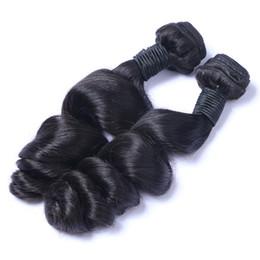 Wholesale Dye Brazilian Hair - Brazilian Virgin Human Hair Loose Wave Unprocessed Remy Hair Weaves Double Wefts 100g Bundle 2bundle lot Can be Dyed Bleached
