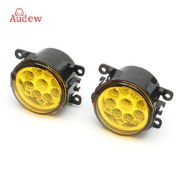 Wholesale Led H11 55w - 2PCS H11 55W Yellow LED Driving Light Fog Light Lamp Assy Bulb For Ford Focus 2007-2014