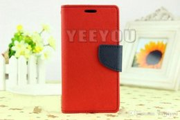Wholesale Iphone 5c Tpu Case Flip - Mercury Wallet leather PU TPU Hybrid Soft Case Folio Flip Cover for iPhone 4 4s 5 5s SE 5c 6 6s 7 Plus For Samsung s6 s7 s8 edge plus
