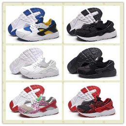 Wholesale Hot Girl Point - Kids Air Huarache Shoes Boys Girls Huaraches Ultra Run Trainers Sneakers For Youth With Boxes Size US11C--3Y Hot Sale