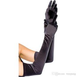 Gants de mariage longue fête opéra blanc / noir / ivoire / rouge gants de mariage Gants de mariage pas cher satin 55 cm ? partir de fabricateur