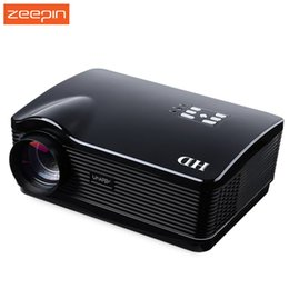 Wholesale Proyector Tv - Wholesale-2016 Mini H3 LED LCD Projector Native Full HD 3D Smart Home Cinema Theater 720P Proyector HDMI USB SD TV ATV AV VGA 3000 Lume US