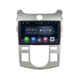 Wholesale Map Tuner - 9'' Android 6.0 Car DVD Radio Player For Kia Cerato   Forte (AT) 2008-2012 With Map Rearview Camera